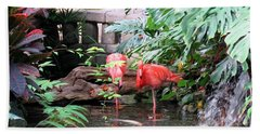 Flamingos Bath Towel