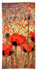 Flanders Fields Bath Towel
