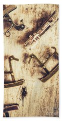 Flashback From The Wooden Toy Box Hand Towel