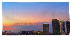 #flashbackfriday - The #sunset Over Hand Towel