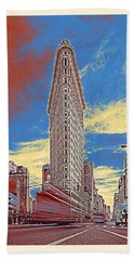 Flatiron Building, New York, United States 2b Hand Towel