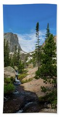Flattop Mountain In Rocky Mountain National Park Hand Towel