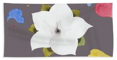 Fleur Et Coeurs Hand Towel