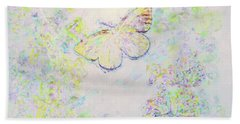 Hand Towel featuring the photograph Flight Of Dreams by Kerri Farley