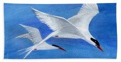 Flight - Painting Bath Towel