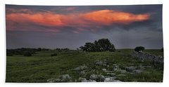 Flinthills Sunset Bath Towel