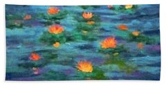 Floating Gems Bath Towel
