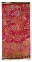 Floral Abstract 1 Bath Towel