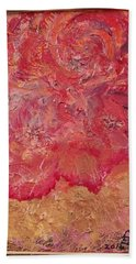 Floral Abstract 2 Hand Towel