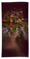 Floral Arrangement No. 2 Hand Towel by Richard Cummings