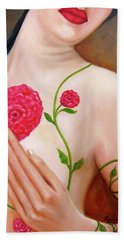 Floral Beauty Bath Towel