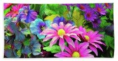Floral Bouqet Hand Towel