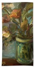Floral Bouquet Hand Towel