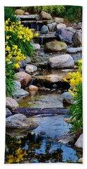 Floral Creek Hand Towel