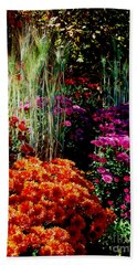 Floral Display Hand Towel