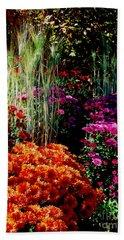 Floral Display Bath Towel