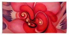Floral Energies Hand Towel