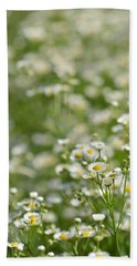 Floral Field #1 Hand Towel