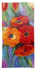 Floral Fusion Hand Towel