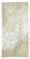 Floral Imprints Bath Towel