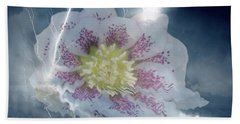 Floral Lightning Reflections Hand Towel