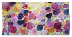 Floral Splendor IIi Bath Towel