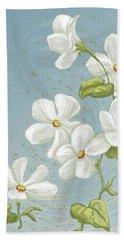 Floral Whorl Hand Towel