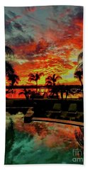 Floridian Iconic Sunset Bath Towel