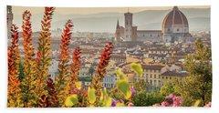 Florence In Summer Bath Towel