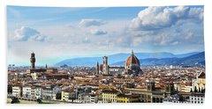Florence, Italy Bath Towel