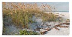 Florida Beach And Sea Oats Hand Towel