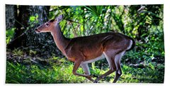 Florida Deer Bath Towel