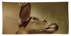 Bath Towel featuring the photograph Florida Deer by Judy Hall-Folde