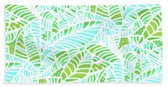 Florida Keys Leaves Hand Towel