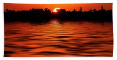 Florida Keys Sunset  Hand Towel by Kevin Cable