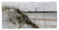 Florida Lighthouse Bath Towel