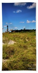 Florida Lighthouse  Hand Towel by Kelly Wade