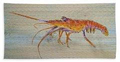 Florida Lobster Hand Towel