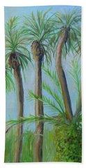 Florida Palms Hand Towel