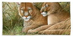 Florida Siblings Bath Towel