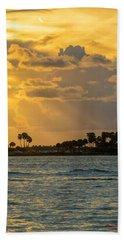 Florida Sunset-3 Bath Towel
