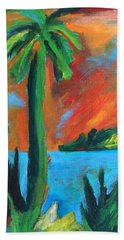 Florida Sunset Bath Towel