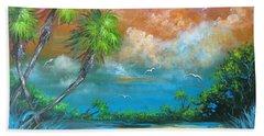 Florida Sunset Hand Towel