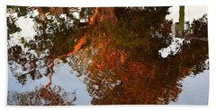 Florida Winter Reflection Bath Towel