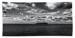 Bath Towel featuring the photograph Floridian Waters by Jon Glaser