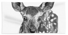 Florry The Fawn Bath Towel by Abbey Noelle