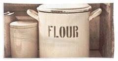 Flour Tin Bath Towel