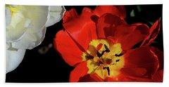 Flower 55 Hand Towel by David Gilbert