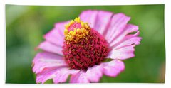 Flower Close-up Hand Towel
