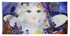 Flower Fairy Bath Towel
